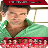 Kings Punjab IPL Best Profile Photo Maker & Stats icon
