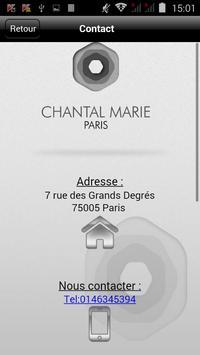 Chantal Marie Soins beauté & Accessoires mode screenshot 11