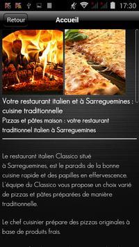 Classico Pizza apk screenshot