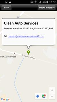 Clean Auto Services apk screenshot