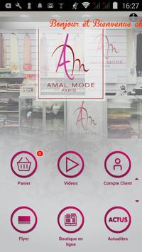 Amal Mode Paris poster