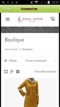 Amal Mode Paris screenshot 1