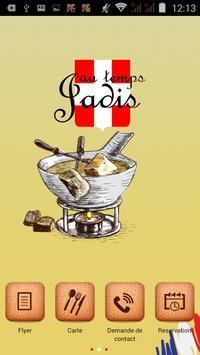 Au Temps Jadis poster