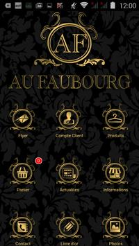 Au Faubourg poster