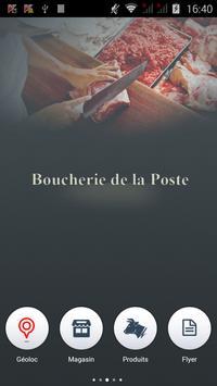Boucherie de la Poste poster