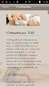 Maxime Obadia Ostéopathe apk screenshot