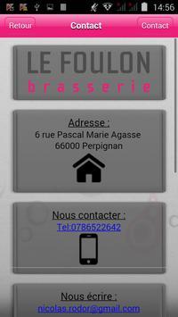 Brasserie Le Foulon apk screenshot