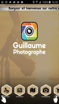 Guillaume Photographe poster