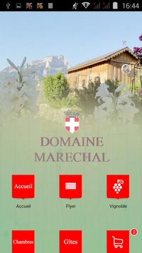 Domaine Maréchal poster
