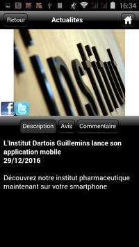 Institut Dartois Guillemins apk screenshot