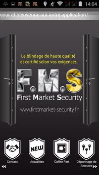 First Market Security poster