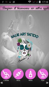 Kalie Art Tattoo poster