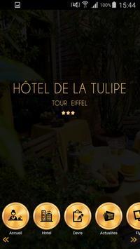 Hôtel de la Tulipe poster