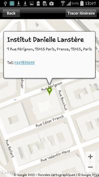 Institut Danielle Lanstère screenshot 9