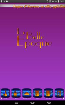 La Belle Epoque Bordeaux apk screenshot