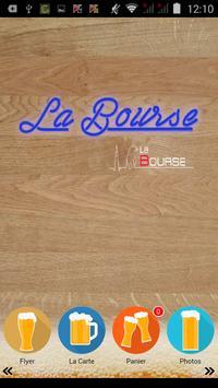 La Bourse Café poster