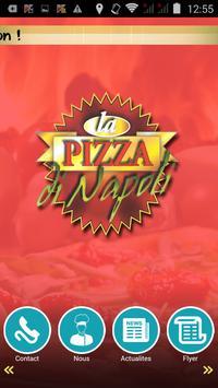 La Pizza Di Napoli poster