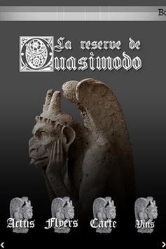 La Réserve de Quasimodo poster