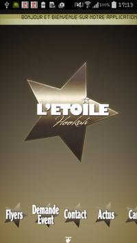 L'étoile hookah poster