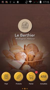 Boulangerie Berthier poster