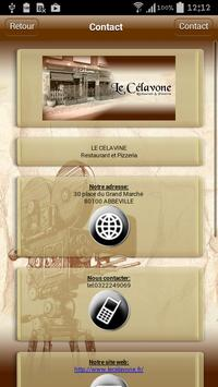 Le Célavone Restaurant apk screenshot