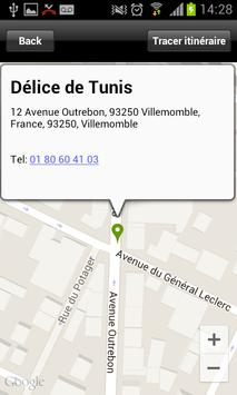 Le délice de Tunis apk screenshot