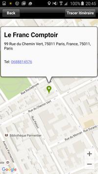 Le Franc Comptoir apk screenshot