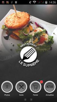 Restaurant Le Suprême poster