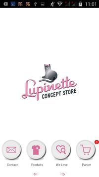 Lupinette Concept Store poster