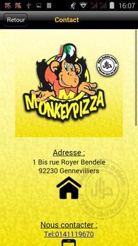 Monkey Pizza Gennevilliers screenshot 1