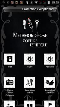 Métamorphose coiffure poster