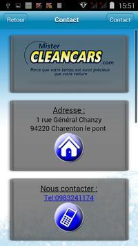 Mister Cleancars apk screenshot