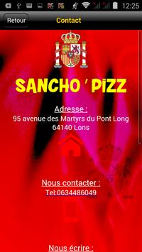 Sancho'Pizz apk screenshot