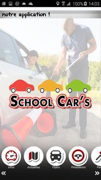 School Cars poster