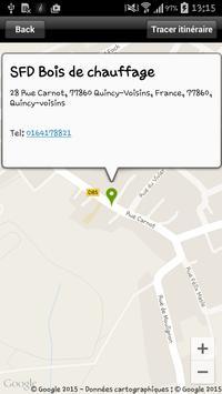 SFD Bois de chauffage apk screenshot