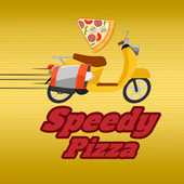 Speedy Pizza day and night icon