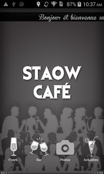 Staow Cafe poster