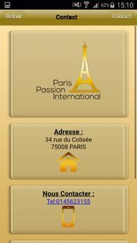 Paris Passion International screenshot 3