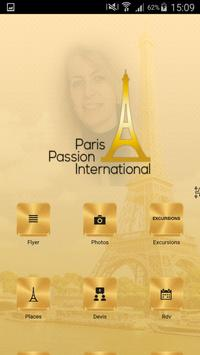Paris Passion International poster