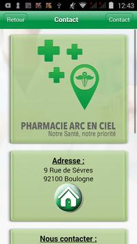 Pharmacie Arc En Ciel screenshot 2