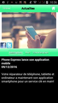 Phone Express apk screenshot