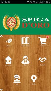 Pizza Spiga D'Oro poster