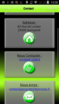 Propreté29 Services screenshot 15