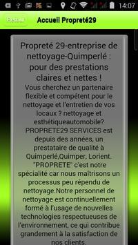 Propreté29 Services screenshot 1