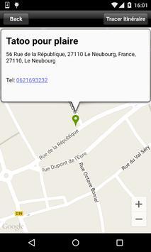 Tatoo pour plaire apk screenshot