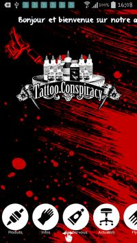 Tattoo conspiracy poster