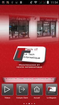 Tech it poster