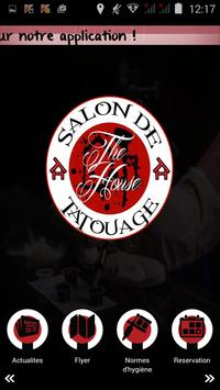 The house tattoo studio poster
