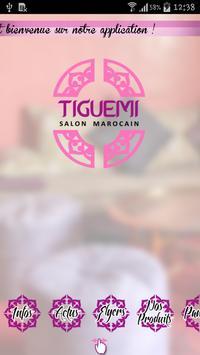 Tiguemi Salon Marocain poster