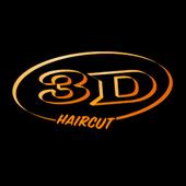 3D Haircut icon